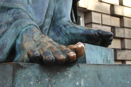 David Hume's big toe