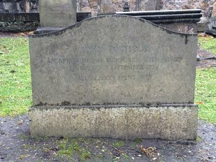 Grave of John Porteous Edinburgh Greyfriars